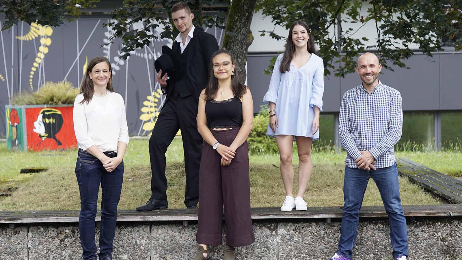 Absolventen des Berufskollegs Grafik-Design